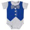 body corbata michi azul
