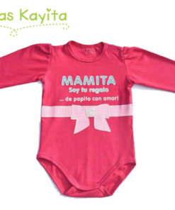body mamita fucsia ML