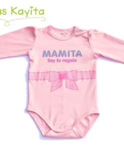 body mamita rosado ML